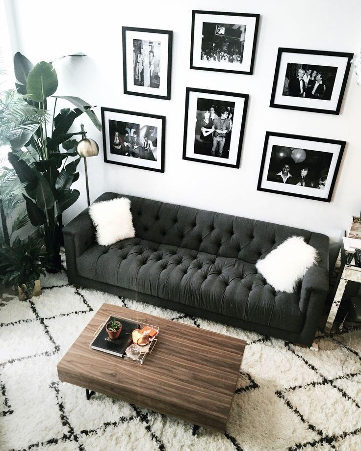 Best 25+ Black Couch Decor Ideas On Pinterest | Dark Sofa, Black With Black Sofas Decors (Image 5 of 20)