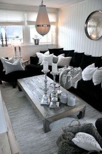 Best 25+ Black Couch Decor Ideas On Pinterest | Dark Sofa, Black With Black Sofas Decors (View 9 of 20)