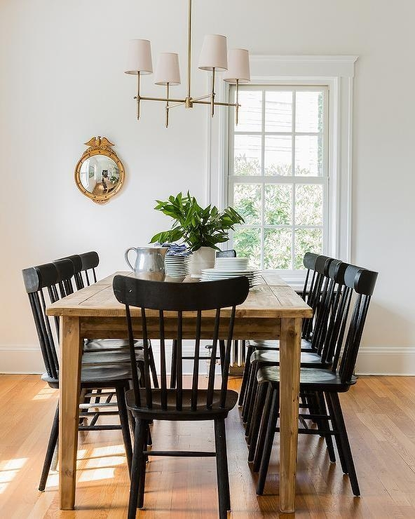 Best 25+ Black Dining Chairs Ideas On Pinterest | Black Dining Throughout Most Current Black Dining Chairs (View 13 of 20)