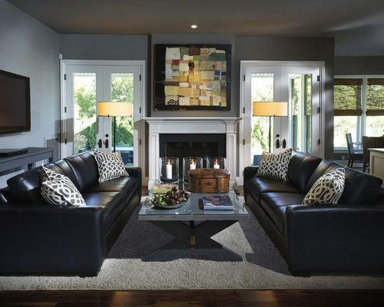 Best 25+ Black Leather Sofas Ideas On Pinterest | Black Leather For Black Sofas Decors (Image 8 of 20)