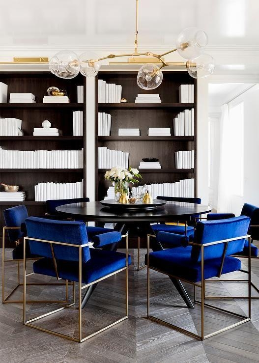 Best 25+ Blue Velvet Dining Chairs Ideas On Pinterest In Velvet Dining Chairs (Image 4 of 20)