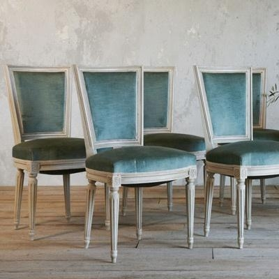 Best 25+ Blue Velvet Dining Chairs Ideas On Pinterest Regarding Velvet Dining Chairs (Image 5 of 20)