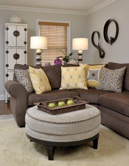 Featured Image of Living Room With Brown Sofas