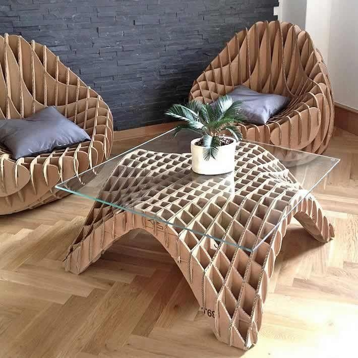 Best 25+ Cardboard Furniture Ideas On Pinterest | Diy Furniture Within Cardboard Sofas (Image 10 of 20)