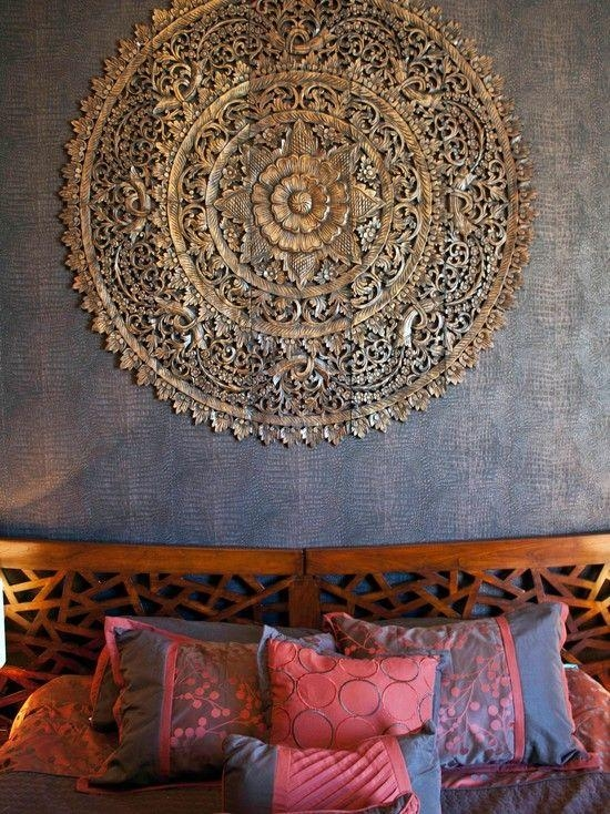 Best 25+ Carved Wood Wall Art Ideas On Pinterest | Thai Decor Inside Asian Themed Wall Art (Image 10 of 20)