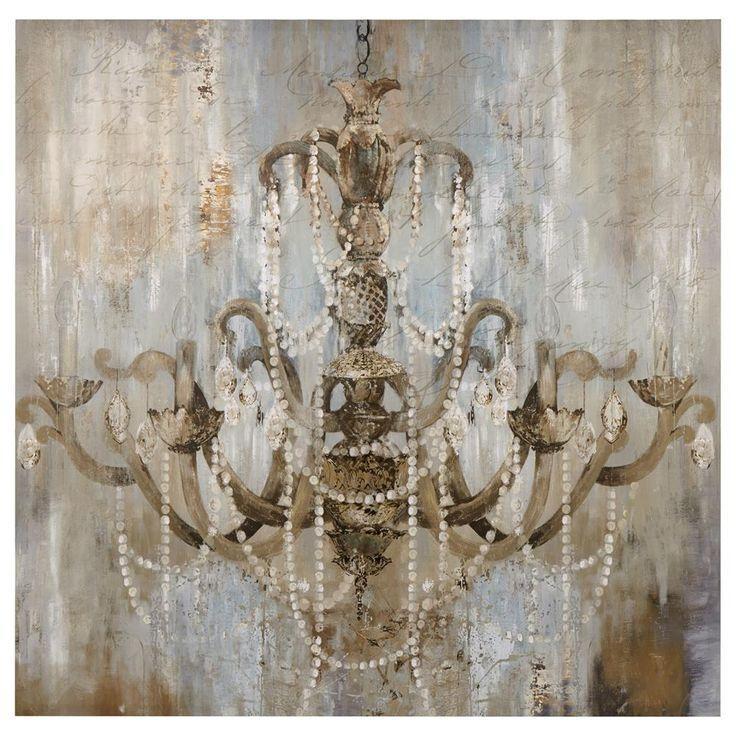 Best 25+ Chandelier Art Ideas On Pinterest | Art Deco Chandelier Within Metal Chandelier Wall Art (View 14 of 20)