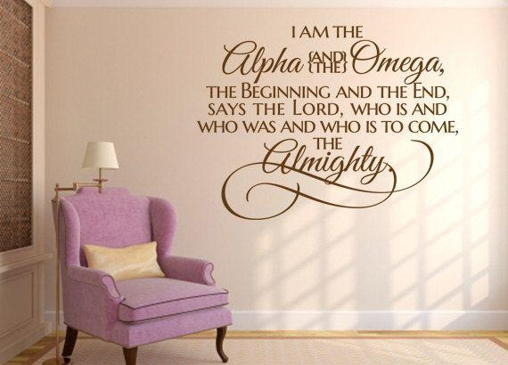 Best 25+ Christian Wall Decals Ideas On Pinterest | Wall Decor For Scripture Vinyl Wall Art (View 5 of 20)