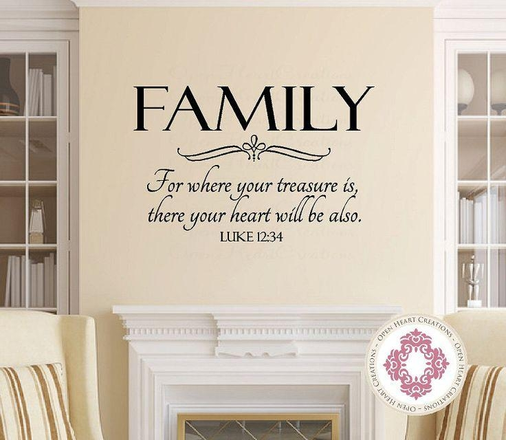 Best 25+ Christian Wall Decals Ideas On Pinterest | Wall Decor Regarding Scripture Vinyl Wall Art (View 7 of 20)