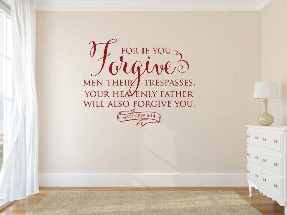 Best 25+ Christian Wall Decals Ideas On Pinterest | Wall Decor With Scripture Vinyl Wall Art (View 2 of 20)