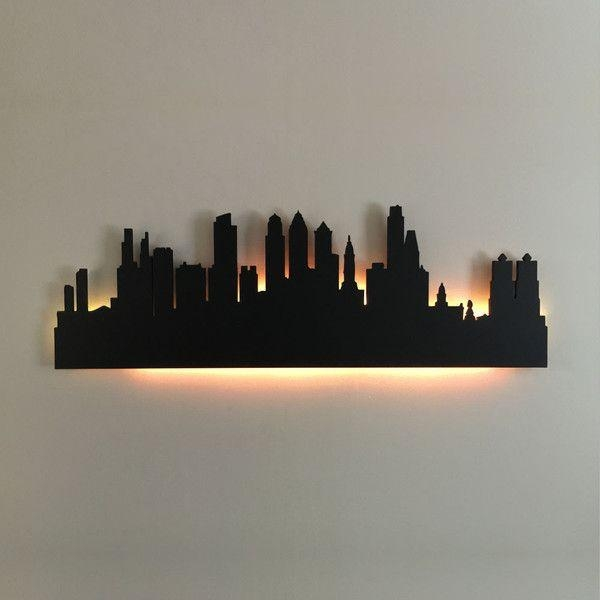 Best 25+ City Skyline Art Ideas On Pinterest | Nyc Skyline, Simple Pertaining To Metal Wall Art New York City Skyline (View 5 of 20)