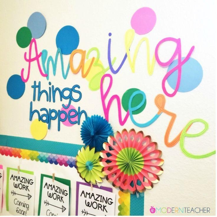 Classroom Wall Design Ideas ~ Top wall art for kindergarten classroom ideas
