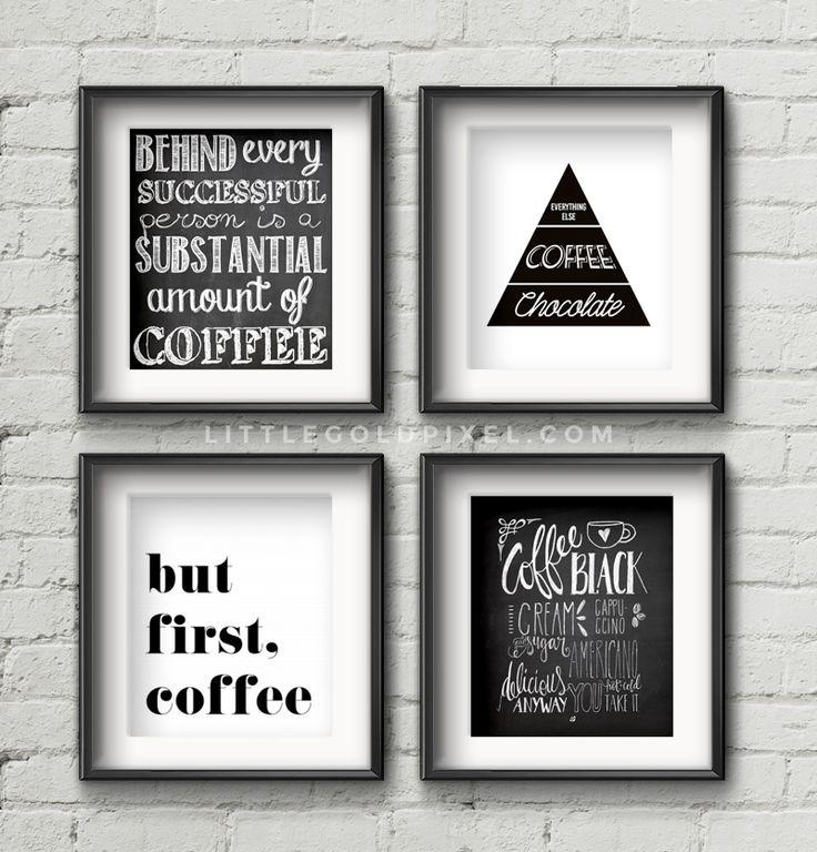 Best 25+ Coffee Wall Art Ideas On Pinterest | Coffee Shop Menu Intended For Coffee Bistro Wall Art (Image 8 of 20)