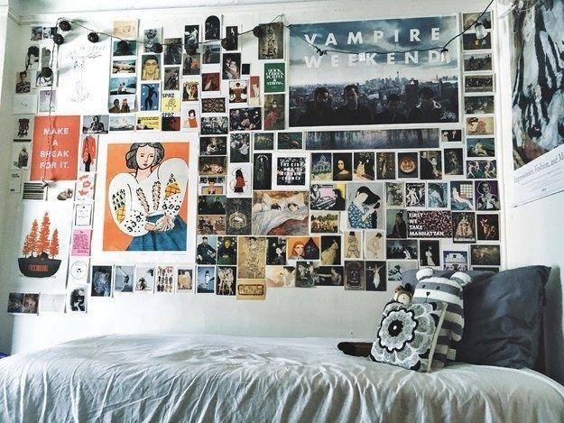 Best 25+ College Wall Art Ideas On Pinterest | Art Art, College Regarding Wall Art For College Dorms (Image 4 of 20)