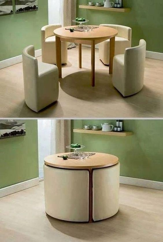 Best 25+ Compact Dining Table Ideas On Pinterest | Space Saving Throughout Compact Dining Sets (Image 2 of 20)