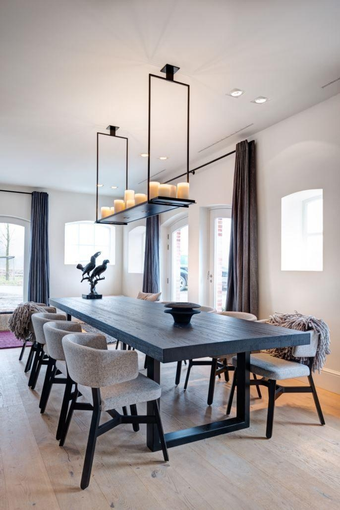 Best 25+ Contemporary Dining Chairs Ideas On Pinterest | Modern For Newest Contemporary Dining Furniture (Image 2 of 20)