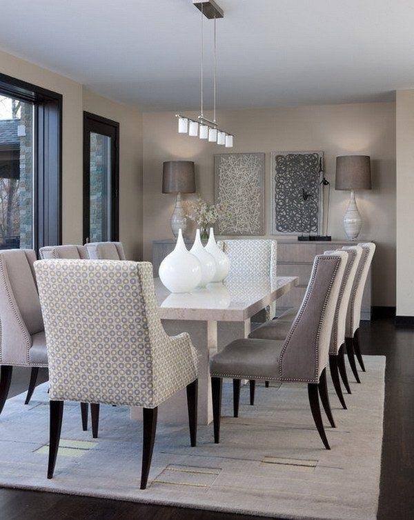 Best 25+ Contemporary Dining Rooms Ideas On Pinterest Inside Best And Newest Contemporary Dining Room Chairs (Image 1 of 20)