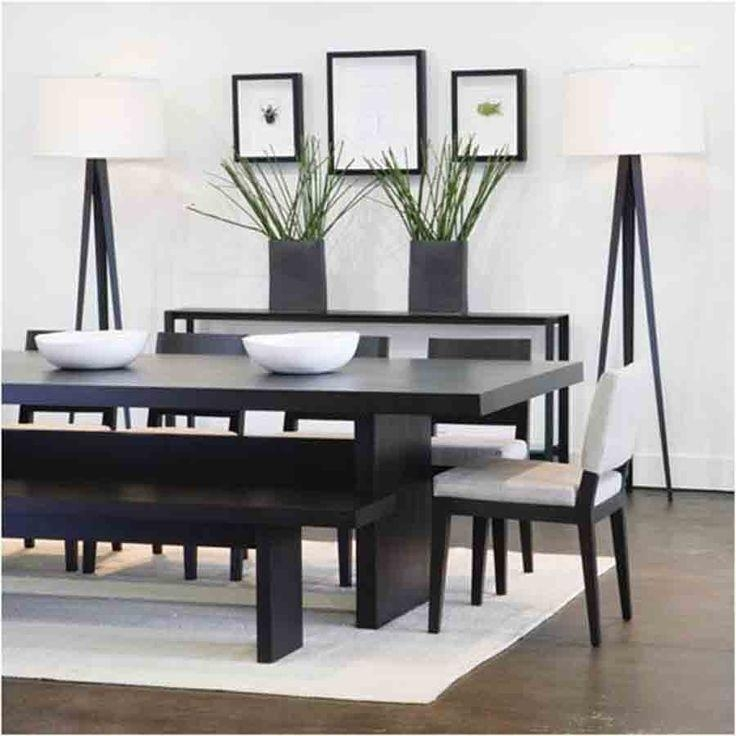 Best 25+ Contemporary Dining Sets Ideas On Pinterest | Kitchen For Latest Black Wood Dining Tables Sets (Image 8 of 20)