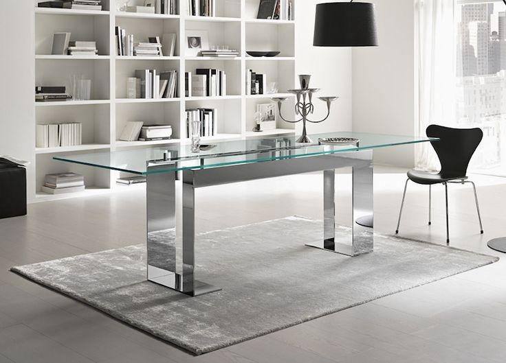 Best 25+ Contemporary Dining Table Ideas On Pinterest Throughout Current Glasses Dining Tables (Image 4 of 20)