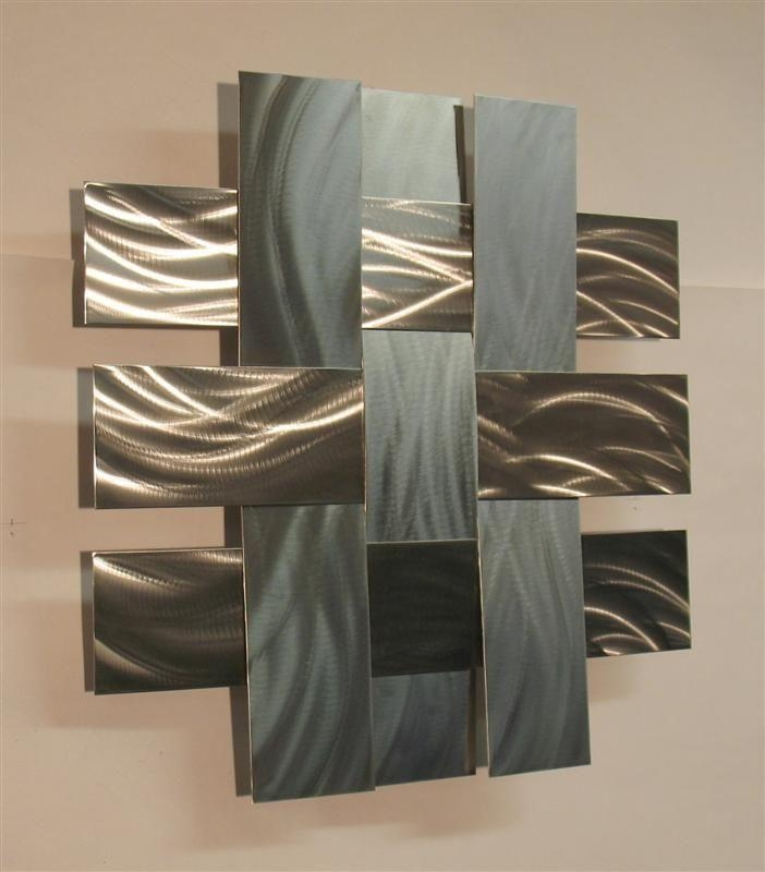 Best 25+ Contemporary Metal Wall Art Ideas On Pinterest For Silver Metal Wall Art Flowers (Image 4 of 20)