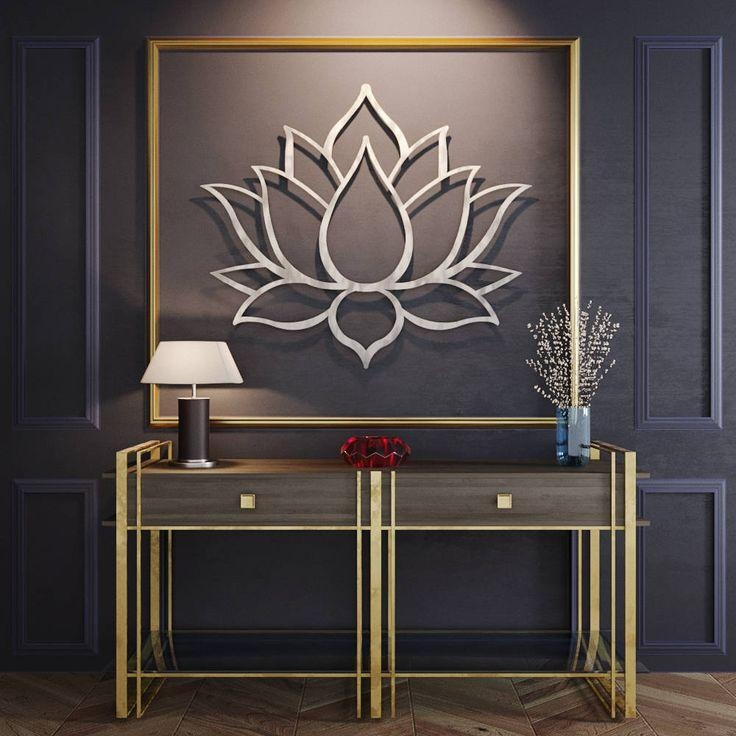 Best 25+ Contemporary Metal Wall Art Ideas On Pinterest Regarding Large Metal Wall Art Sculptures (View 15 of 20)