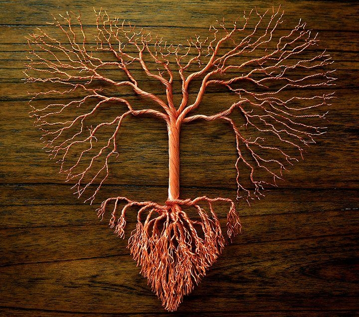Best 25+ Copper Wire Art Ideas On Pinterest | Copper Wire, Copper In Copper Oak Tree Wall Art (Image 14 of 20)