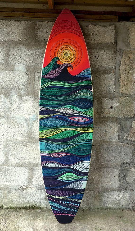 Best 25+ Custom Surfboards Ideas On Pinterest | Surfboard Art Inside Surf Board Wall Art (View 18 of 20)