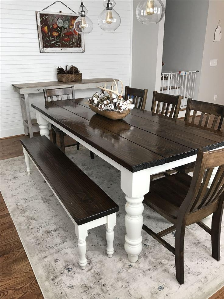 Best 25+ Dark Wood Dining Table Ideas On Pinterest | Dark Dining Intended For Recent Dark Solid Wood Dining Tables (Image 2 of 20)