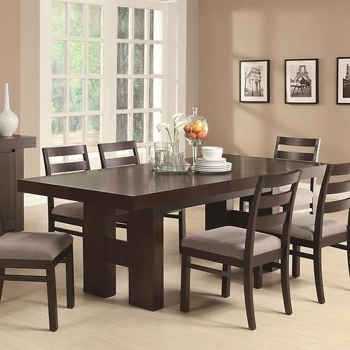 Best 25+ Dark Wood Dining Table Ideas On Pinterest | Dark Dining Pertaining To Best And Newest Dining Tables Dark Wood (Image 5 of 20)