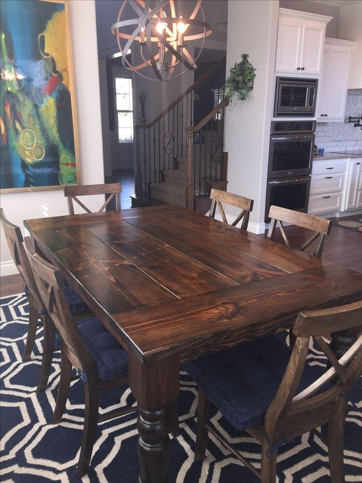 Best 25+ Dark Wood Dining Table Ideas On Pinterest | Dark Dining Regarding Latest Dark Wood Dining Tables And 6 Chairs (Image 5 of 20)