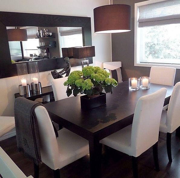 Best 25+ Dark Wood Dining Table Ideas On Pinterest | Dark Dining Regarding Most Popular Dark Wood Dining Tables (View 7 of 20)