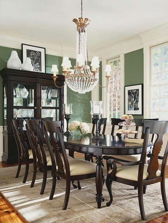 Dining Room Dark Romantic: 20 Best Dark Wood Dining Room Furniture