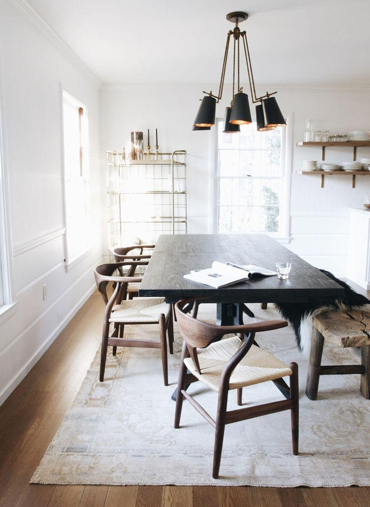 Best 25+ Dark Wood Dining Table Ideas On Pinterest | Dark Dining Within Best And Newest Dark Dining Tables (Image 6 of 20)