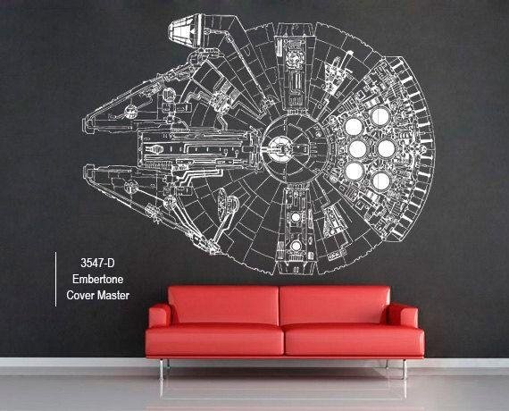 Best 25+ Decoracion Star Wars Ideas On Pinterest | Decoracion De For Diy Star Wars Wall Art (Image 2 of 20)