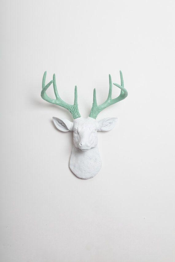 Best 25+ Deer Head Decor Ideas On Pinterest | Deer Heads, Deer In Resin Animal Heads Wall Art (View 15 of 20)