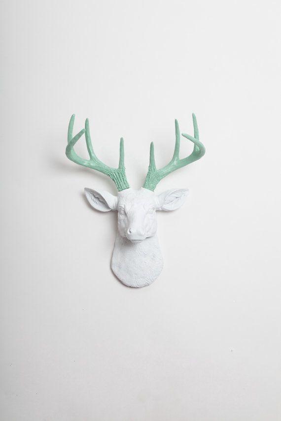 Best 25+ Deer Head Decor Ideas On Pinterest | Deer Heads, Deer In Resin Animal Heads Wall Art (Image 5 of 20)