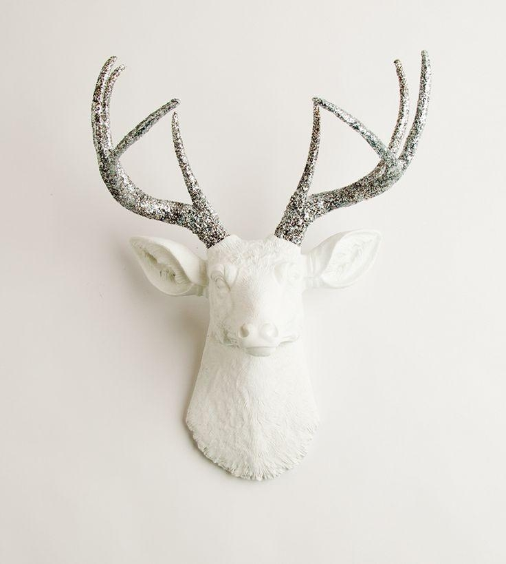 Best 25+ Deer Head Decor Ideas On Pinterest | Deer Heads, Deer Throughout Resin Animal Heads Wall Art (View 6 of 20)