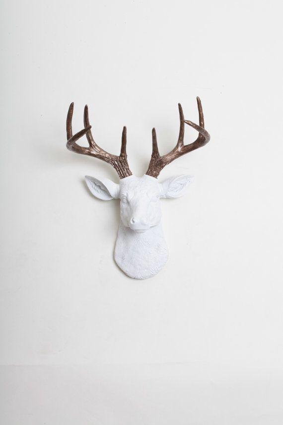 Best 25+ Deer Head Decor Ideas On Pinterest | Deer Heads, Deer With Resin Animal Heads Wall Art (Image 7 of 20)