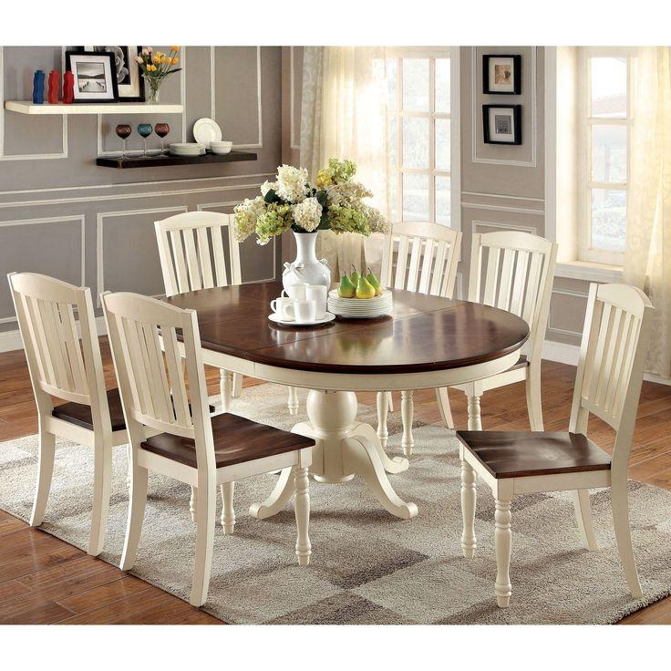 Best 25+ Dining Sets Ideas On Pinterest | Modern Dining Sets For Most Current Cream Dining Tables And Chairs (View 15 of 20)