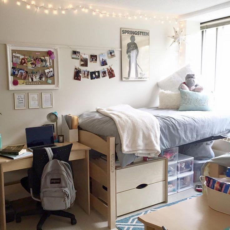 Best 25+ Dorm Room Walls Ideas On Pinterest | College Dorms, Dorm Within Wall Art For College Dorms (View 3 of 20)