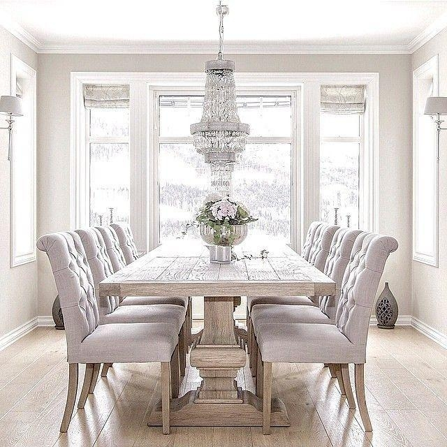 Best 25+ Elegant Dining Room Ideas On Pinterest | Dinning Room With Most Recent Next White Dining Tables (View 7 of 20)