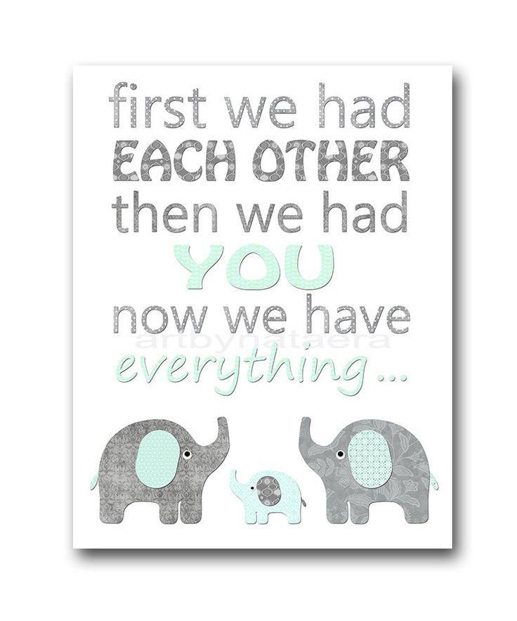 Best 25+ Elephant Nursery Boy Ideas On Pinterest | Elephant Inside Elephant Wall Art For Nursery (View 11 of 20)