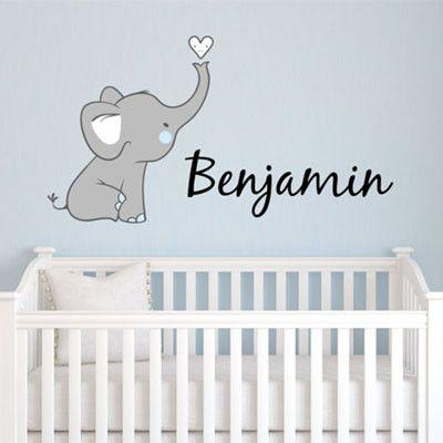 Best 25+ Elephant Nursery Boy Ideas On Pinterest | Elephant Throughout Elephant Wall Art For Nursery (Image 8 of 20)
