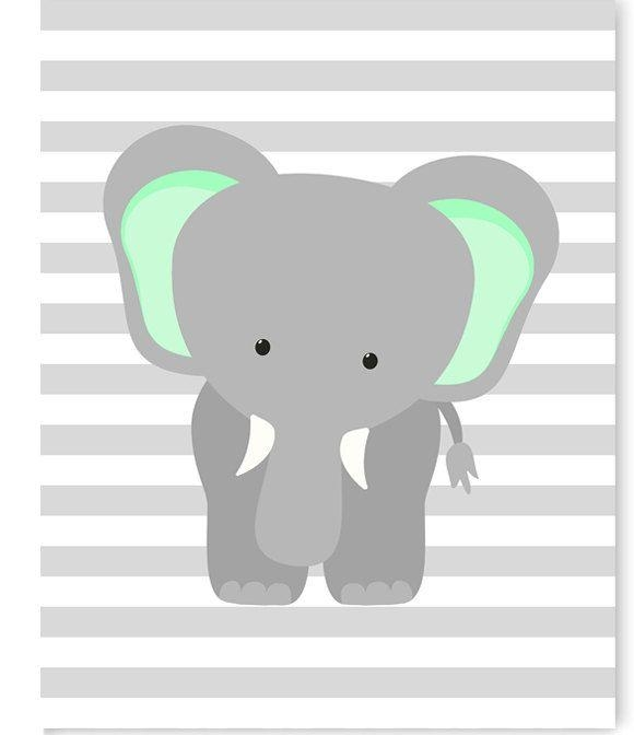 Best 25+ Elephant Nursery Decor Ideas On Pinterest | Elephant Inside Elephant Wall Art For Nursery (Image 9 of 20)