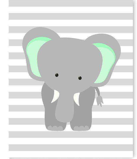 Best 25+ Elephant Nursery Decor Ideas On Pinterest | Elephant Inside Elephant Wall Art For Nursery (View 13 of 20)