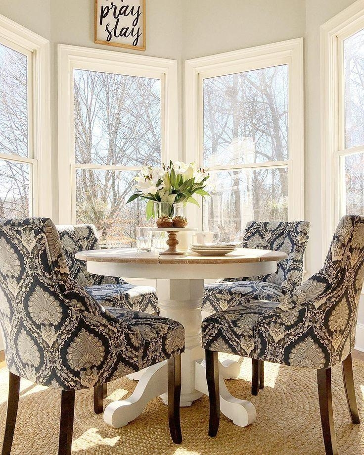 Best 25+ Fabric Dining Chairs Ideas On Pinterest | Reupholster In 2018 Dining Tables And Fabric Chairs (Image 6 of 20)