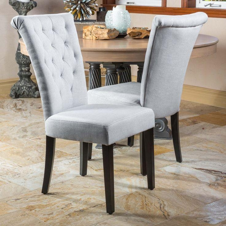 Best 25+ Fabric Dining Chairs Ideas On Pinterest | Reupholster With Most Recently Released Fabric Dining Chairs (Image 3 of 20)