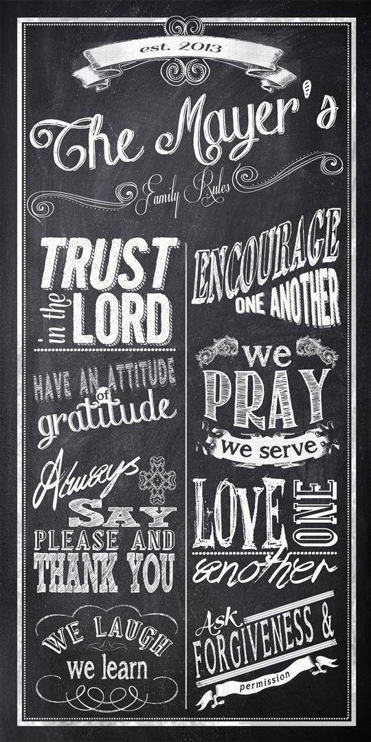 Best 25+ Family Values Ideas On Pinterest | Family Values Quotes Regarding Personalized Family Rules Wall Art (Image 10 of 20)