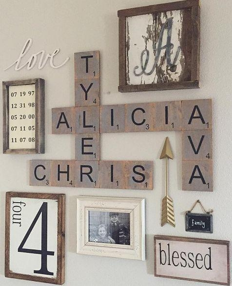 Best 25+ Family Wall Decor Ideas On Pinterest | Family Wall, Wall With Family Wall Art Picture Frames (View 11 of 20)