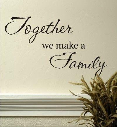 Best 25+ Family Wall Quotes Ideas On Pinterest | Word Wall Decor For Family Sayings Wall Art (Image 2 of 20)