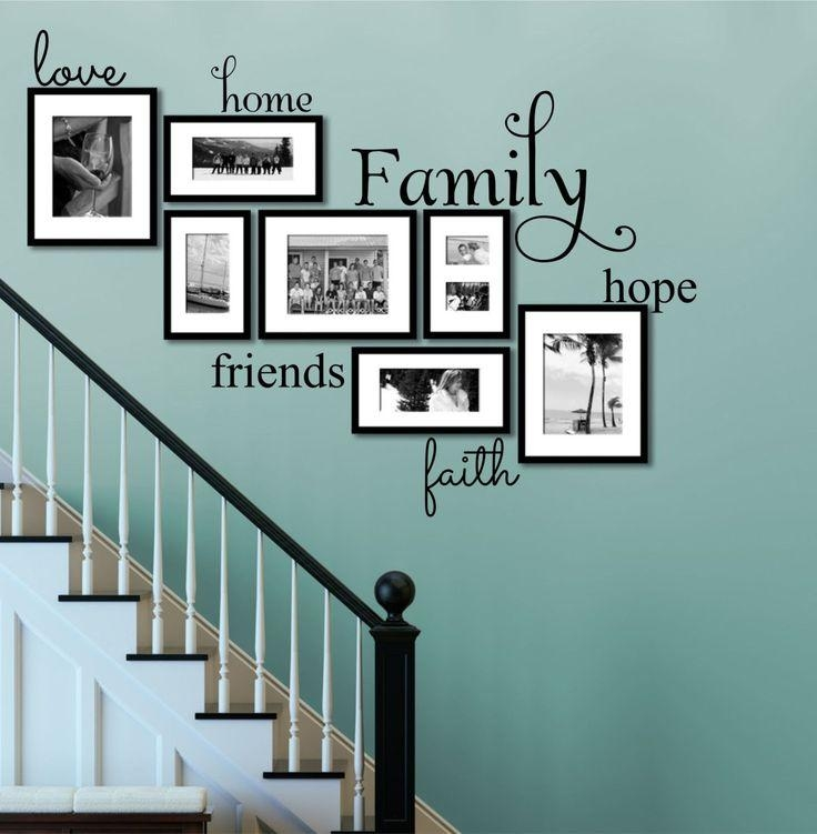 Best 25+ Family Wall Quotes Ideas On Pinterest | Word Wall Decor Throughout Faith Family Friends Wall Art (View 5 of 20)
